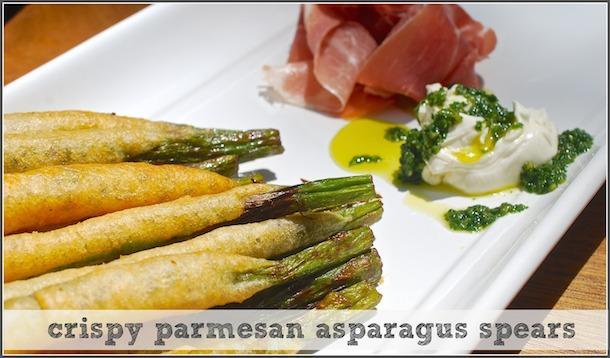 crispy cheesy asparagus