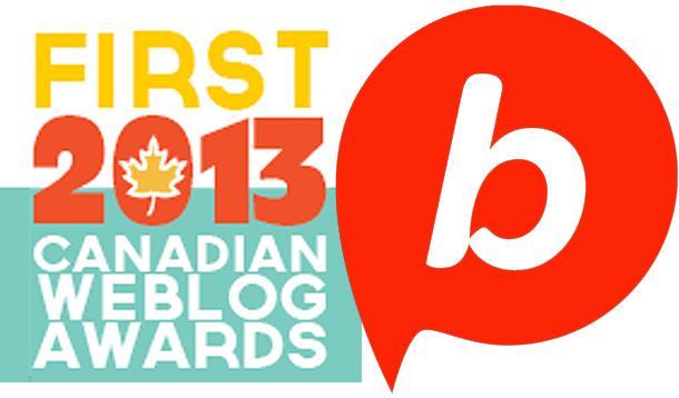 Canadian Weblog Award and Babble Award
