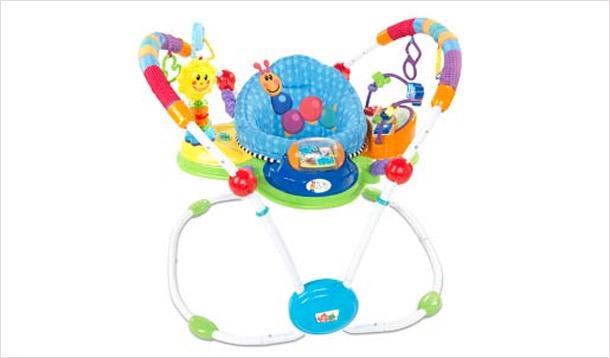 RECALL: Baby Einstein Musical Motion Activity Jumper