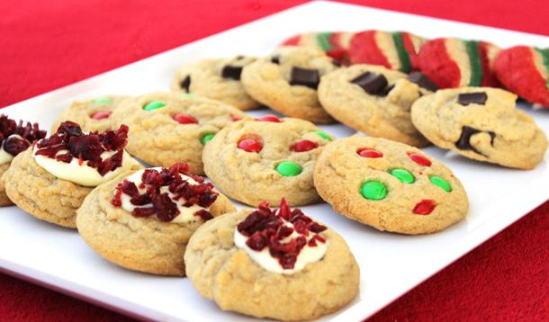 photo regarding Printable Cookies identify 4 Very simple Trip Cookie Recipes with Printable Recipe Playing cards