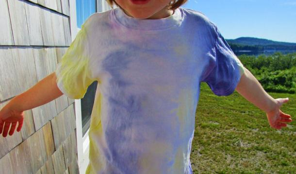 Food stained clothing can be beautiful.