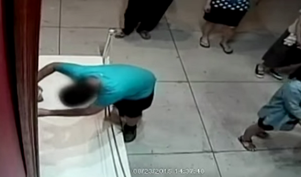 Boy accidentally punches hole in 1.5 million dollar painting