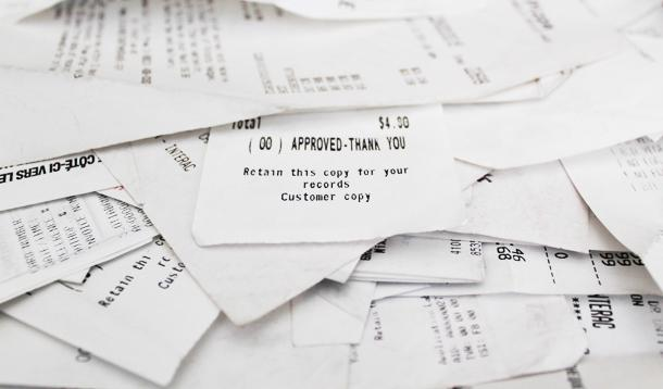 There May Be BPA In Your Cash Register Receipts :: YummyMummyClub.ca