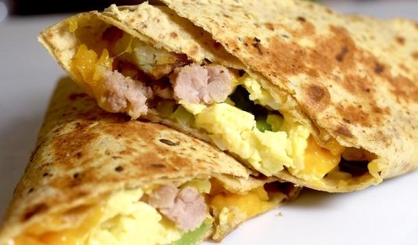 Breakfast Burrito | YummyMummyClub.ca