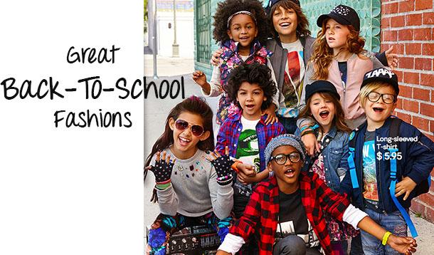 back-to-school fashion for boys and girls