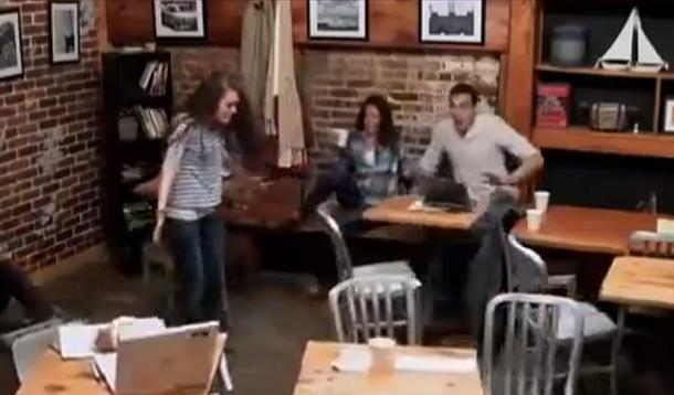 coffee shop scare