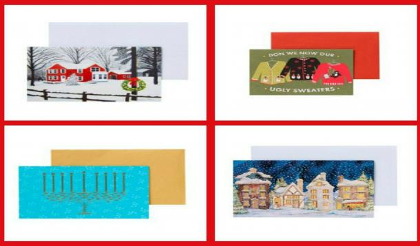 Picture card or traditional holiday card horizontal or vertical classic santa or something more fun from the wording of the card to