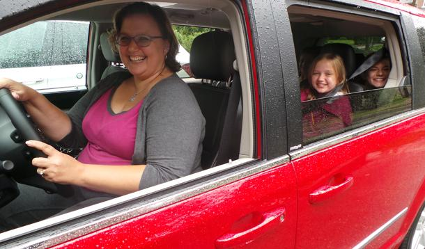 The Carpooling Code of Conduct for Minivan Moms
