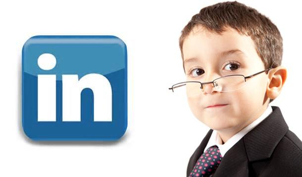 kids on linkedin