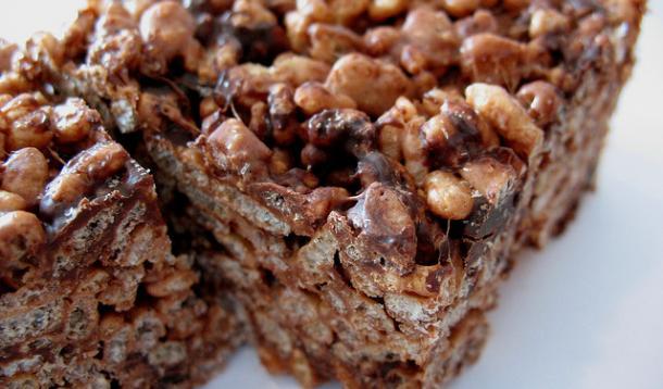 Chocolate Rice Krispie Squares Recipe