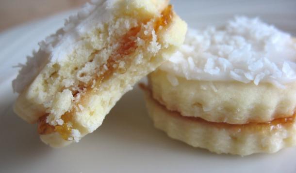 Coconut Mango Butter Cookies Recipe