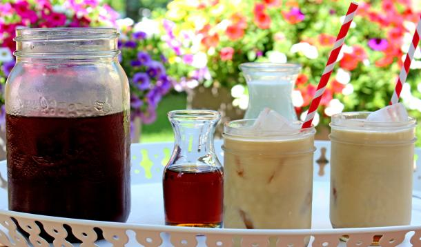Cold-brewed coffee is delicious and easy to make