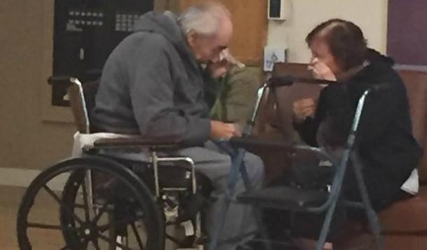Couple Married for 62 Years Forced to Live Apart