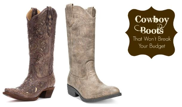 5 Pairs of Cowboy Boots That Won't Break Your Budget ...