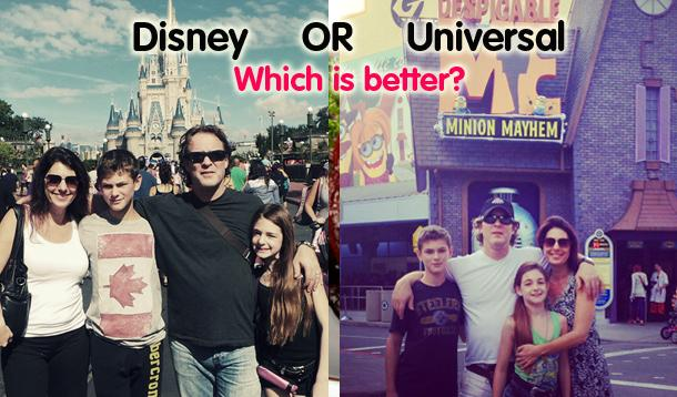 which is better disney or universal