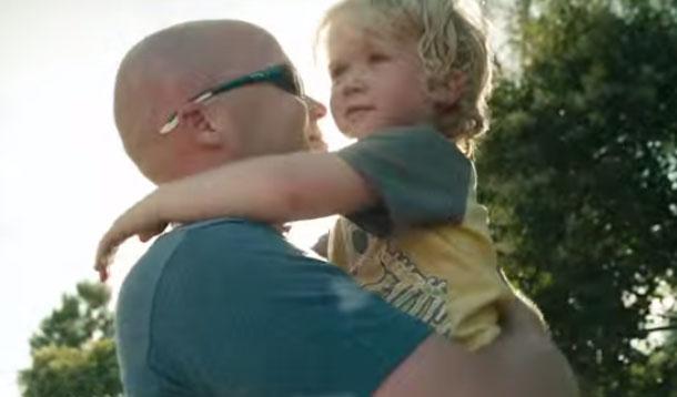 dove celebrates dads