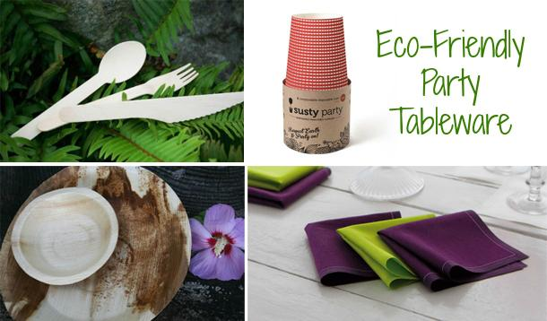 4 Great Green Options For Eco-Friendly Party Tableware