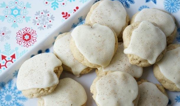 Easy Eggnog Cookies | YummyMummyClub.ca