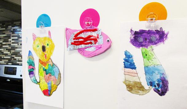 Creative Ways to Display Your Children's Art