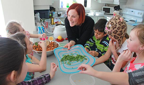 A Cool School Program to Get Your Kids to Eat Healthier