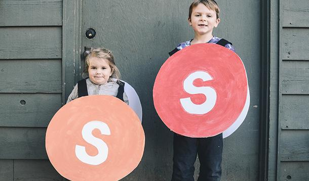 Easy DIY: Make This Sweet, Skittles Halloween Costume for Under $10