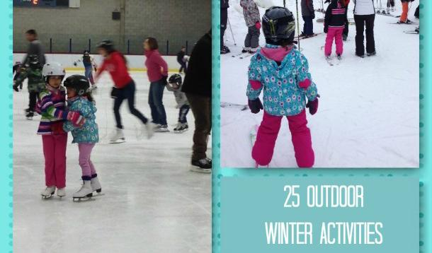 Family Fun outdoor winter activities