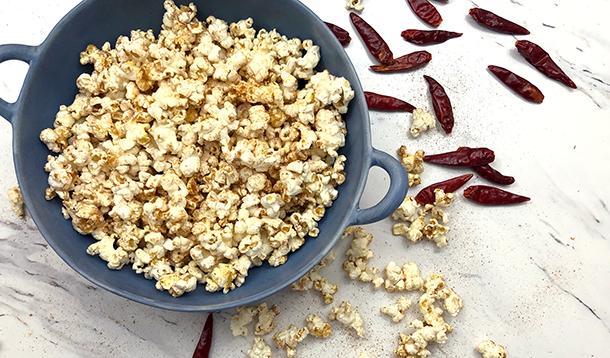 Spiced Southwest Popcorn