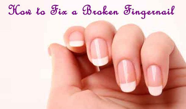 How To Fix A Broken Fingernail :: YummyMummyClub.ca