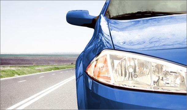 how to get headlights clear again