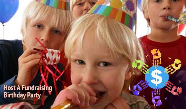 fundraising birthday party