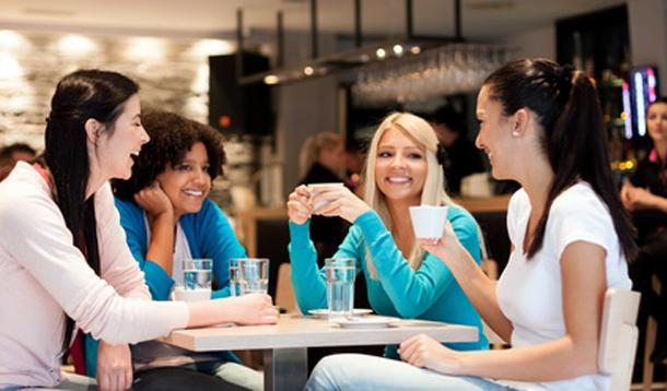 Group Of Women Talking 41