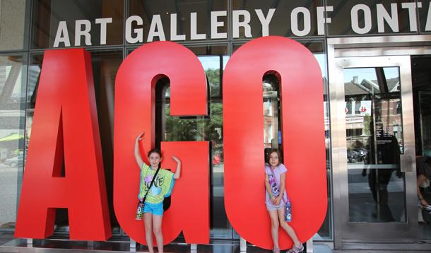Taking Kids To See Picasso At The Art Gallery of Ontario