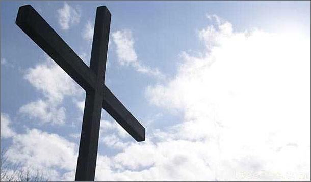 Wooden religious cross