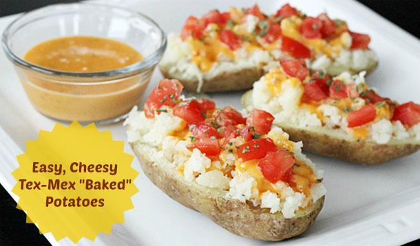Tex-Mex Baked Potatoes Recipe