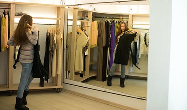 fitting room, self esteem