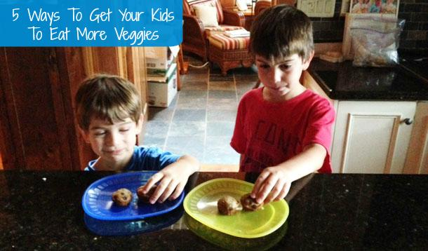 5 Ways To Get More Veggies Into Your Kids