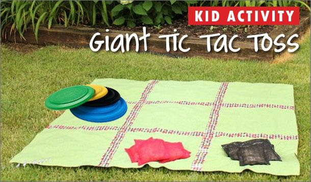 giant tic tac toss kid activity