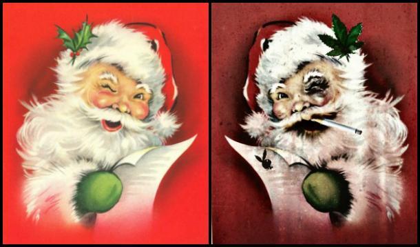 Good and Bad Santas