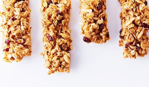 Easy cranberry almond granola bars for Food52 bar nuts