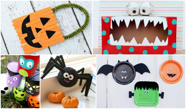 Halloween Crafts For Kids Yummymummyclub Ca
