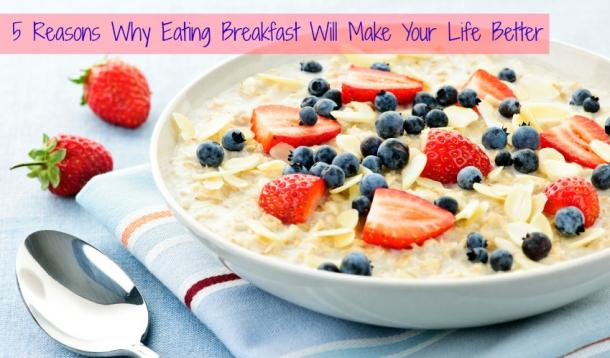 Nutrition why you should eat breakfast