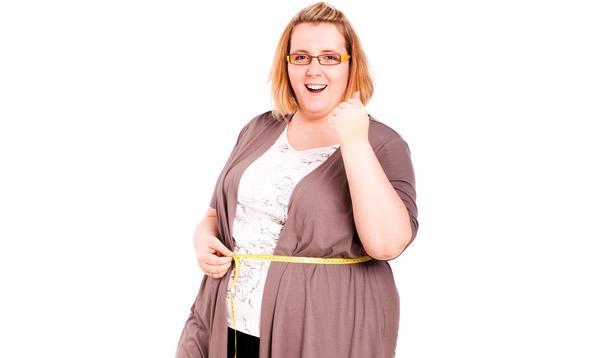 heavy women are happier