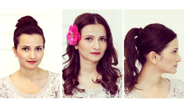 How To Style Shoulder Length Hair For Festive Occasions