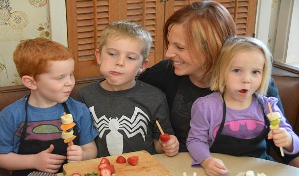 I unleashed my three children aged six, five, and three into the kitchen to make me dinner COMPLETELY WITHOUT MY HELP. | YMCFood | YummyMummyClub.ca