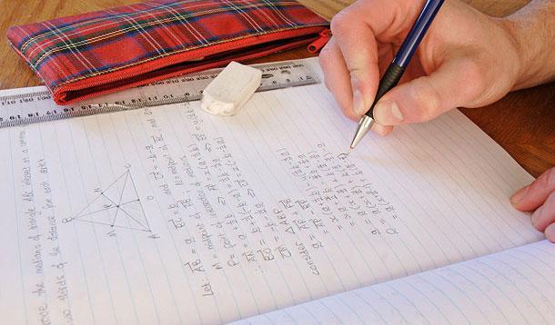 Homework assignment school project