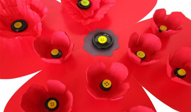 3 beautiful handcrafted poppies for remembrance day yummymummyclub make poppies with your kids for remembrance day mightylinksfo