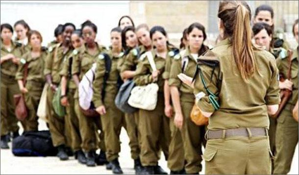 Israeli woman soldier facebook are not