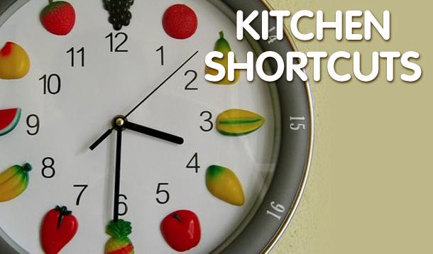 kitchen shortcuts