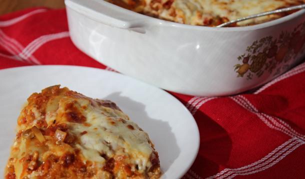 Make this magic lasagne in just five minutes
