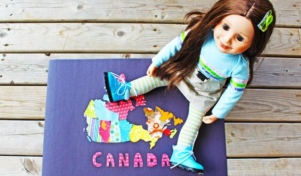3 Canadian-Themed Crafts for Creative & Adventurous Kids #MapleleaGirls | YMCKids | YMCShopping | YummyMummyClub.ca